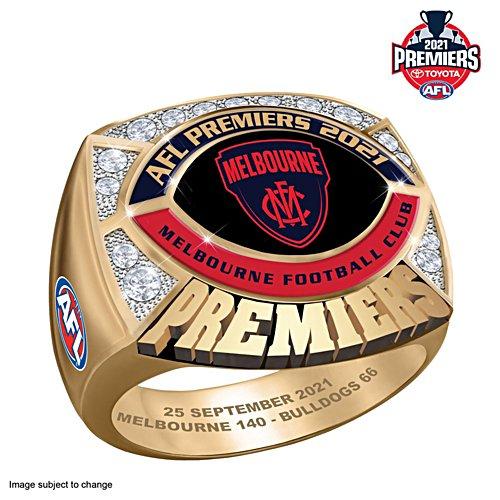 2021 Toyota AFL Premiers Men's Ring