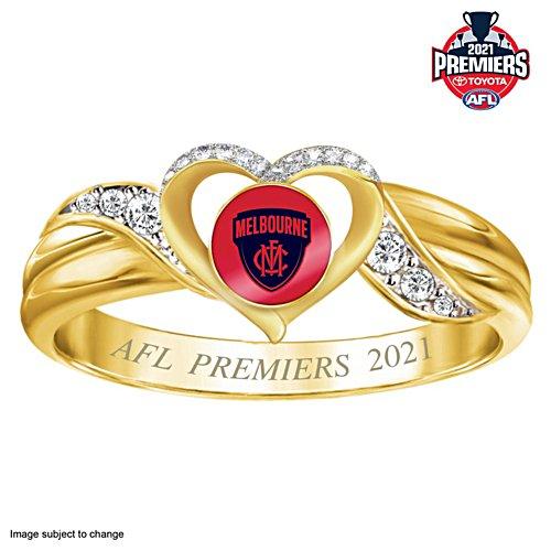 2021 Toyota AFL Premiers Women's Ring