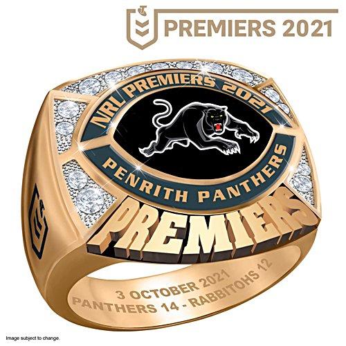 2021 Telstra NRL Premiers Men's Ring