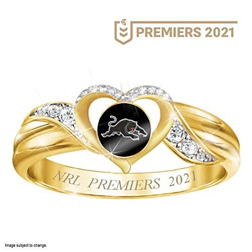 2021 Telstra NRL Premiers Women's Ring