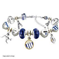 AFL North Melbourne Women's Bracelet With Swarovski Crystals
