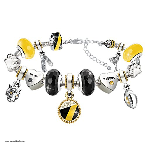 AFL Richmond Tigers Women's Charm Bracelet