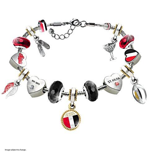 AFL St Kilda Saints Women's Charm Bracelet