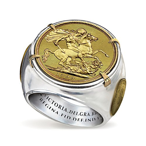1899 Sovereign Replica Men's Ring
