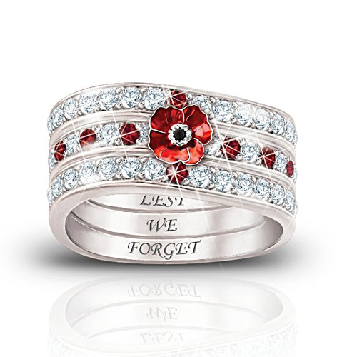 Lest We Forget Hidden Message Ring