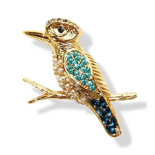 King of the Bush Gold Brooch