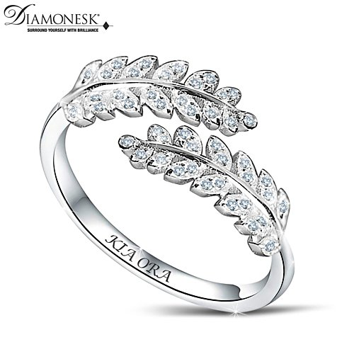 Silver Fern Diamonesk® Ring