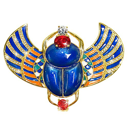 Sacred Treasure of Egypt Diamonesk® Brooch