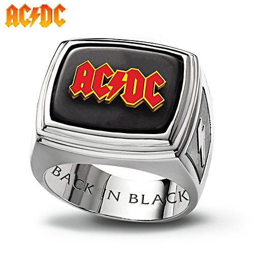 AC/DC Back in Black Men's Ring