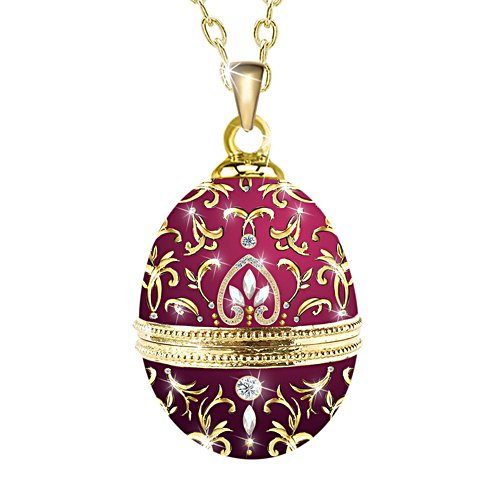 'Imperial Treasures' Fabergé Egg Pendant