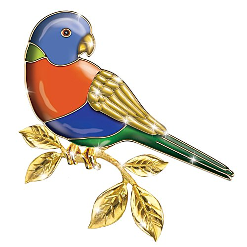 Rainbow Lorikeet Brooch