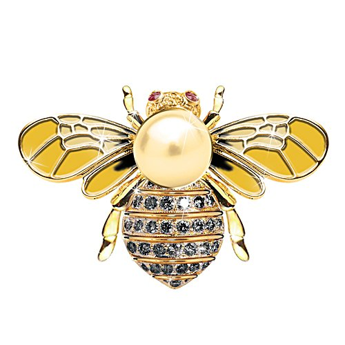 Life and Hope Bee Brooch