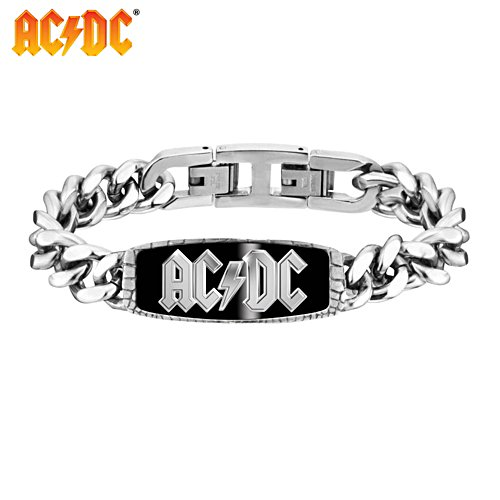 AC/DC Men's Rock Wristband
