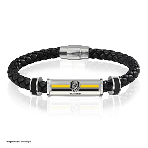 Richmond Tigers Men's Leather Wristband