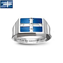 'Son of the Southern Cross' Eureka Patriotic Ring