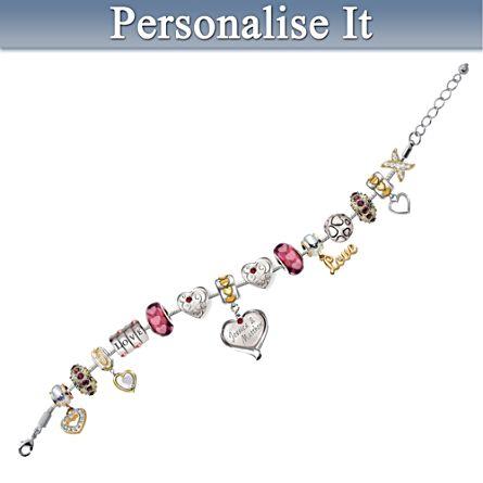 """""""My True Love"""" Personalised Bracelet"""
