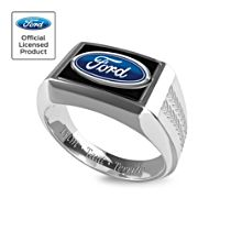 Ford Men's Ring with Official Emblem
