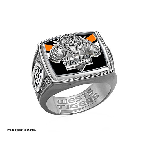 Wests Tigers Ring with Team Colours