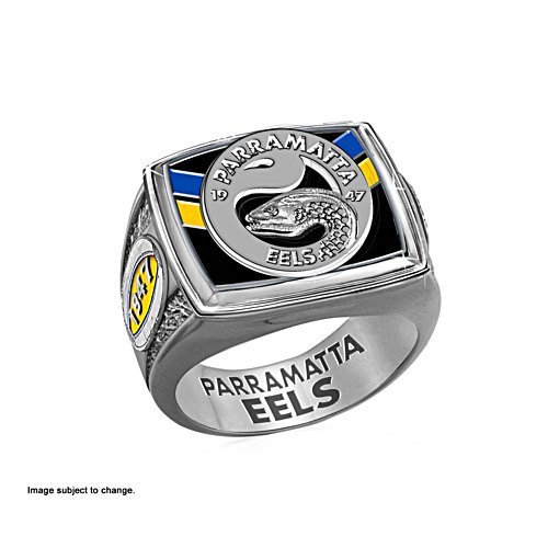 Parramatta Eels Ring with Team Colours