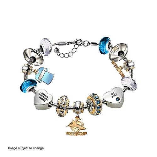 NRL Cronulla-Sutherland Sharks Women's Charm Bracelet
