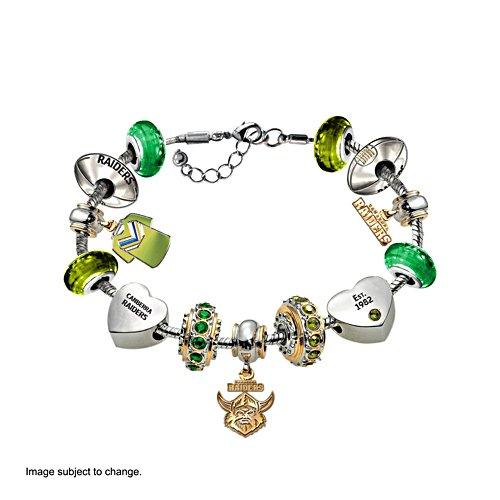 NRL Canberra Raiders Women's Charm Bracelet
