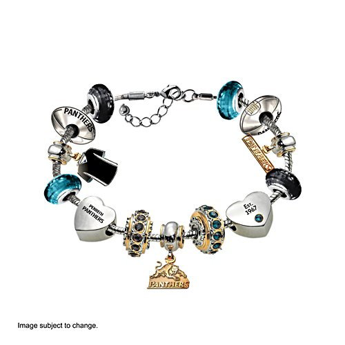 NRL Penrith Panthers Women's Charm Bracelet