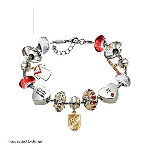 NRL St. George Illawarra Dragons Women's Charm Bracelet