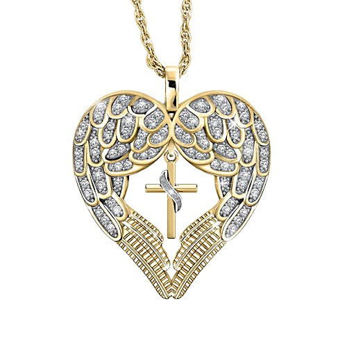 'Wings Of Faith' Ladies' Diamond Pendant