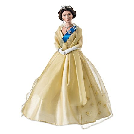 Our Queen Wattle Dress Diamond Anniversary Doll