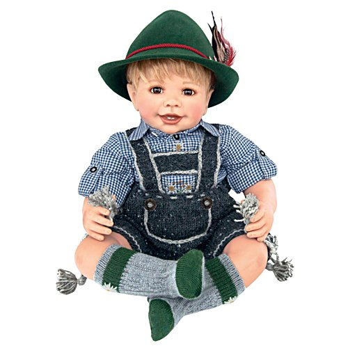 Maxl goes to Oktoberfest Doll