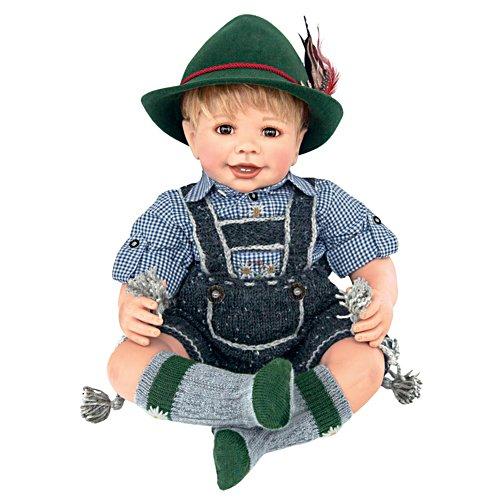 Maxl goes to Oktoberfest Doll