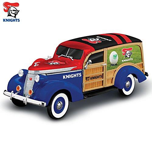 NRL Newcastle Knights 1:18-scale 1937 Woody Wagon