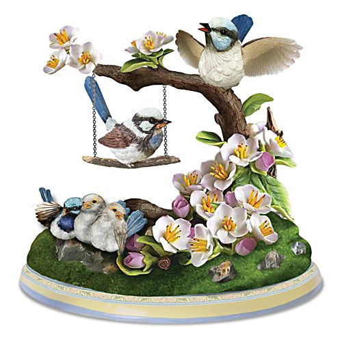 Fairy Wren 'Family Love is Forever' Figurine