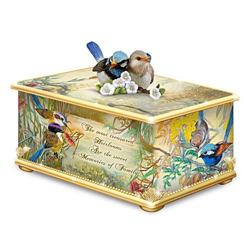 Fairy Wren Heirloom Porcelain® Memory Box