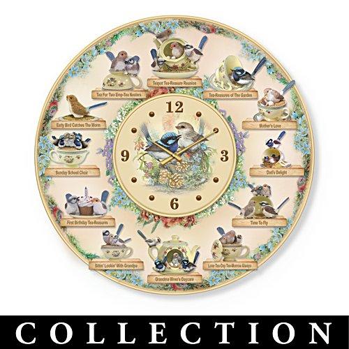 Tea-reasures of the Garden Clock Collection