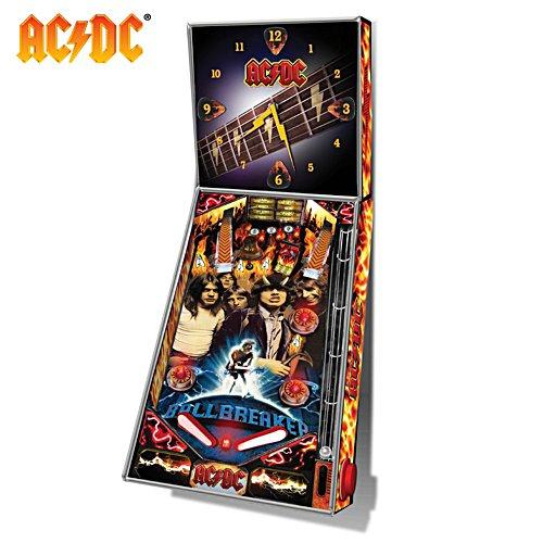AC/DC Pinball Machine Clock
