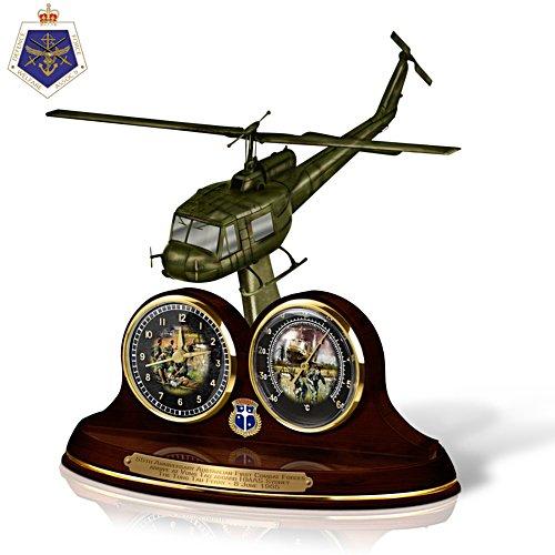 Veterans Remembered Desk Clock