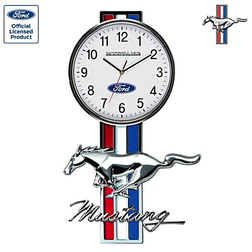 Ford Mustang Untamed Spirit Wall Clock