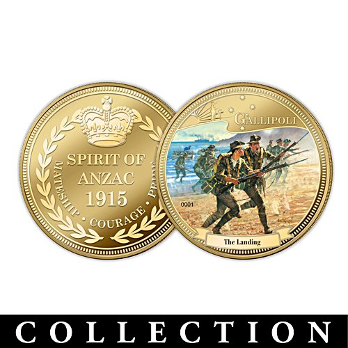 Spirit of the Anzac Gold Medallion Collection