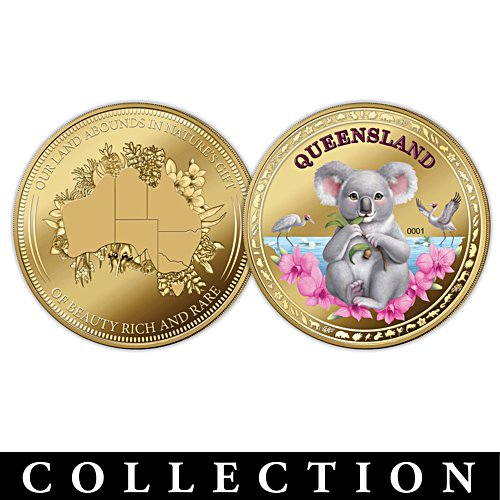 Our Land Abounds in Nature's Gifts Golden Proof Coin Collection