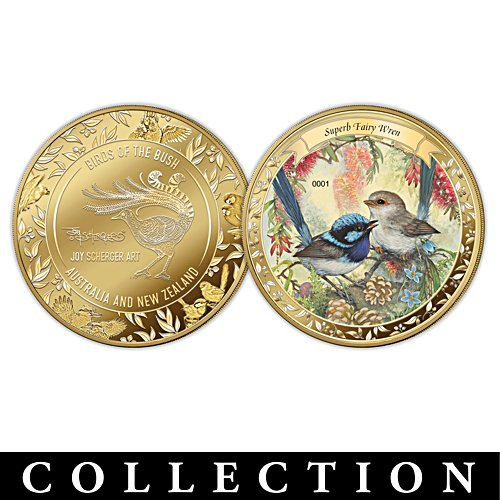 Joy Scherger's Australian and New Zealand Birds Golden Proof Collection