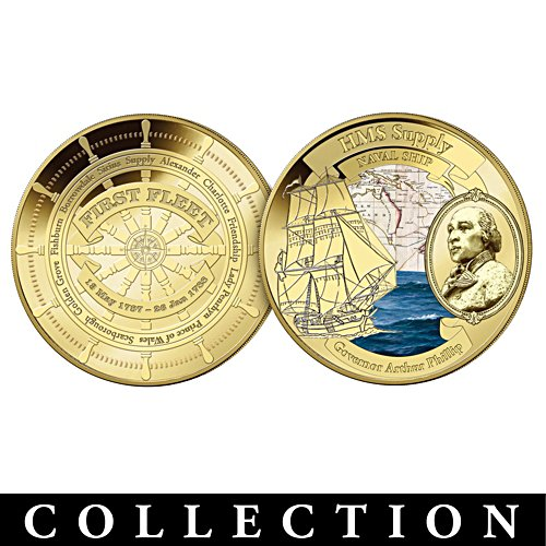First Fleet Golden Proof Collection