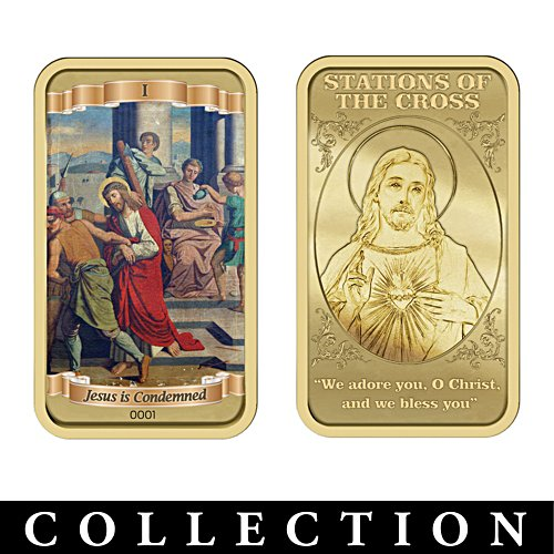 Stations of the Cross Ingot Collection