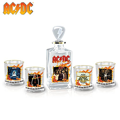 AC/DC Have A Drink On Me Decanter Set