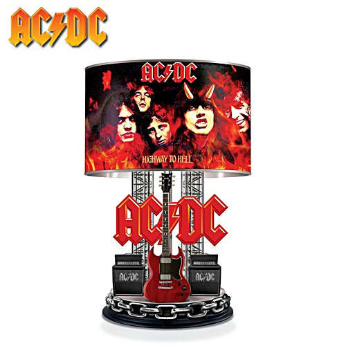 AC/DC Highway to Hell Lamp