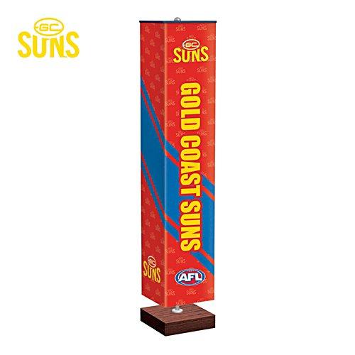 Gold Coast Suns Four-Sided Floor Lamp