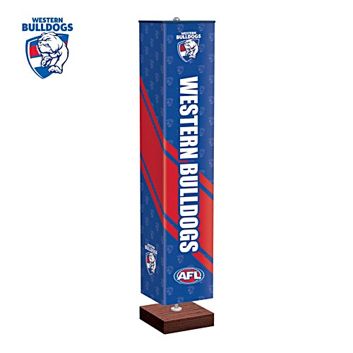 Western Bulldogs Four-Sided Floor Lamp