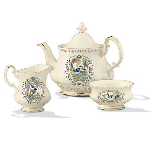 Fairy Wren Garden Treasures Tea Set