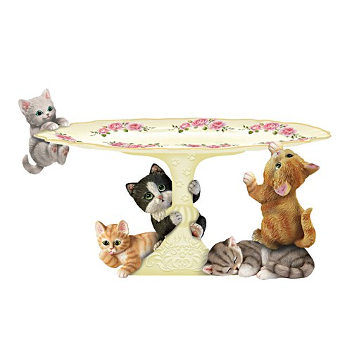 Curious Kitten Cake Stand