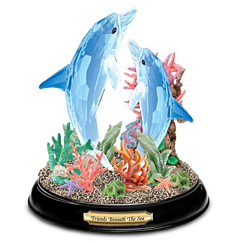 Friends Beneath The Sea Crystalline Figurine